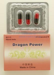 Tablety na erekci Dragon Power - přírodní afrodiziaka - recenze a zkušenosti